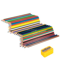 2015 Hot Wood Professional Fine Art 36 Colored Drawing Nontoxic Pencils for Artist Writing Sketching with a Pencil Sharpener