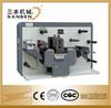 CNC (SBM-320R) automatic intermittent rotary die cutting machine, servo control label slitting machine with electric eye