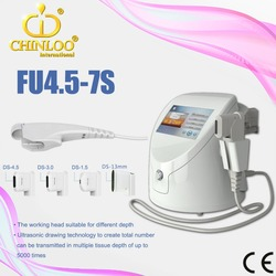 FU4.5-7S Newest anti-aging face lift wrinkle removal hifu beauty equipment/CE