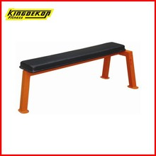 KDK 1139 square pipe fitness equipment flat bench