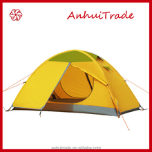 Single Person Double Layer Aluminum pole beach outdoor tent