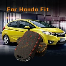 keychain all star for honda fit 2014 Second Generation car case holder key chain