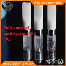 2015 beautiful design skillet pen for dry herb vaporizer 510 wax atomizer