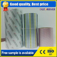 heat sealing lacquered medical packaging blister aluminum foil printed