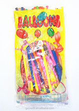modelling long latex balloon twisting balloon magic balloon with assortment color