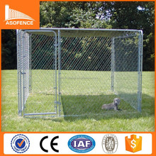 Heavy duty galvanized dog run kennels/ large dog run kennels