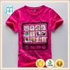 Korean children clothing wholesale cotton kids t shirt