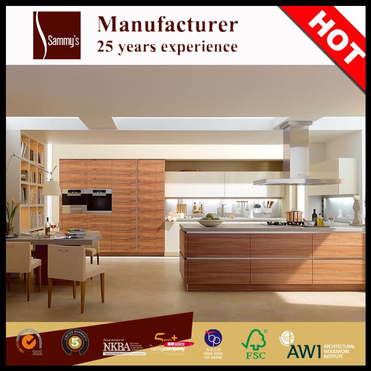 Marine Kitchen Cabinets: Ak1570 American Black Walnut Wood Veneer Waterproof Marine