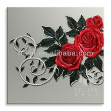 Wholesale famous artist Classic Chinese Rose masterpieces oil painting