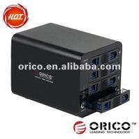 ORICO 3548RUS3 3.5 inch 4bay aluminum HDD/hard disk RAID external case with USB3.0 and e-SATA interface