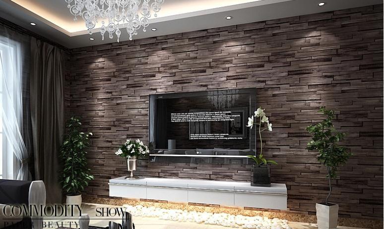 Ideen Steintapete Beeindruckend : Stein tapete wohnzimmer ideen usblife