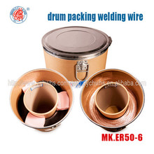 Drum packing: CO2 Gas shielded welding wire ER70S-6