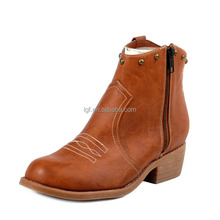 Hot Sale Lady Casual Round Toe RED BLUE PINK BLACK WHITE Women Zipper Boots High Thick Heels Ladies Platform Ankle Boots