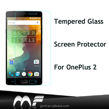 Mobile Phone Accessories Tempered Glass Screen Protector for One Plus Two