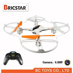 New 2.4G 4ch rc helicopter/drone/quadcopter/aerocraft with 6-axis gyro and IED lights.