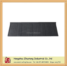 Shingle tile---Makuti Grained stone coated metal roof tile