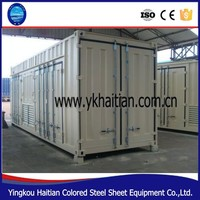 High qulity and low cost prefab container house 2015 ,40ft container house