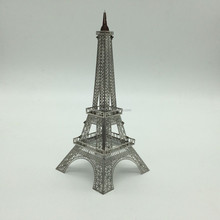 metal custom miniature souvenir buildings Eiffel Tower for business gift