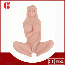 De silicona vagina real, juguetes del sexo chica de goma, macho muñeca de sexo real