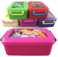 Plastic cute food storage container/bento box
