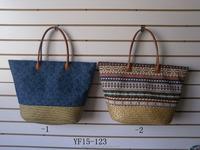 wholesale fashional straw women shopping bags,beach bag