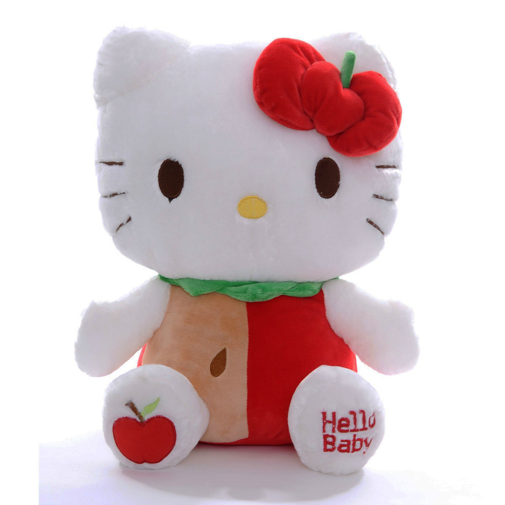 Hello Kitty Plush Toys : Cute plush hello kitty custom animals toys