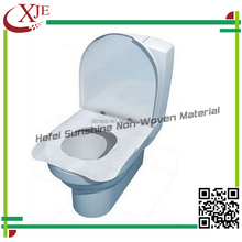 Disposable Airplane Professional OEM 1/2 Fold Dissolving Paper Toilet Seat Cover