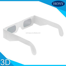 Good looking cheap paper 3D glasses for giveaway/gift(PA0001)