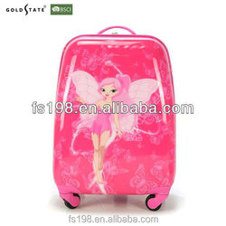 Red colour with printing Kids luggage/trolley/travel bag