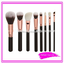 Premium Quality 8pcs Makeup Artist Cosmetic Makeup Brush Set/Luxury Rose Gold Make Up Brushes/2015 Newest Makeup Brush Set