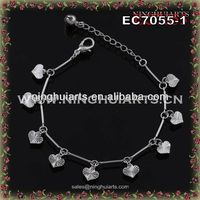 wholesale usa diamond-encrusted bracelet jewelry bead made in China