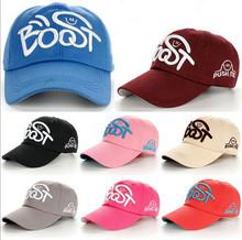 Women men colorful baseball cap adult embroider boost caps 100% cotton hats good quality