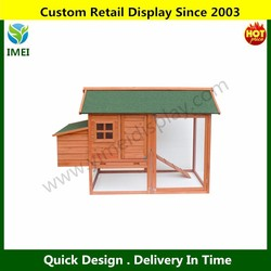 Wooden Pet House Rabbit Bunny Wood Hutch House Dog House Chicken Coops Chicken Cages Rabbit Cage YM5-596