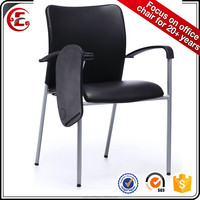 modern leather chair with computer table tablet writing table E-9-1