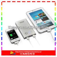Dual USB output 11200mah supply power bank for Handphone