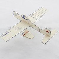 Promotional Gift 2013 Postcard Balsa Glider