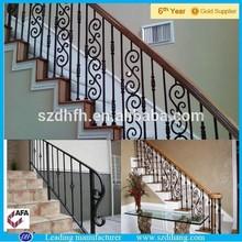 Barandilla de hierro interior/balcón de hierro parrilla/barandillas de acero