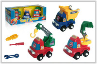 2014 DIY assembly engineer truck toy