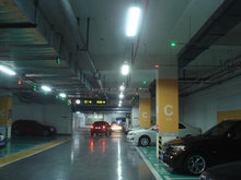 CE approved smart car parking guidance system for indoor usage