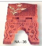 WOODEN QURAN HOLDER- BOOK STAND- ISLAMIC QURAN BOOK HOLDER