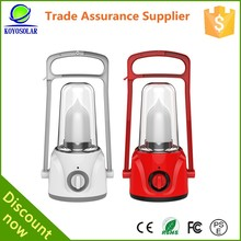 Solar and electric charge high quality portable hand lamp