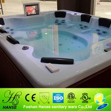 HS-B018G water massage spa/70 jet spa pool/bubble spa massage