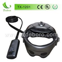 De mano de cuero cabelludo masajeador de cabeza con la presión del aire tx-1201