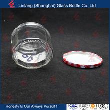 2OZ 50ml Wholesale 1oz Mini Glass Jam/Honey Jar/Bottle With screw Lid best price