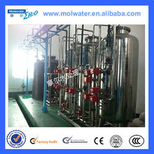 Chemistry and metallurgy 3 stages pretreatment+ 2 stages RO+EDI water treatment system
