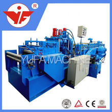 exterior house build sandwich panel christmas sale!!5 inch color steel 4kw 0.6mm gutter forming machine