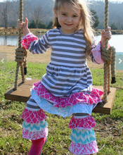 wholesale girls fall outfit 2015 girls ruffle clothing persnickety girls boutique clothing set