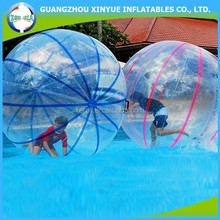 2014 Nice Desgin colorful tap giant ball inflatable water bubble ball water walking ball