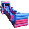 small inflatable dolphin water slide, inflatable factory wet slide