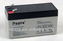 12V 1.2ah batteries rechargeables